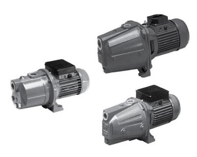 PENTAIR-NOCCHI JET SELF PRIMING CAST IRON PUMPS