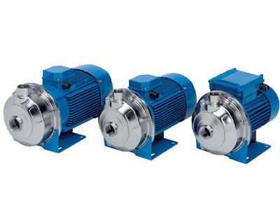 SPERONI STAINLESS STEEL SINGLE IMPELLER CENTRIFUGAL PUMP-CXM