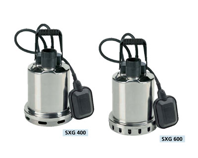 SPERONI STAINLESS STEEL SUBMERSIBLE DRAINAGE PUMP-SXG